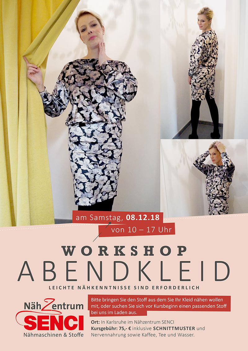 workshop abendkleid karlsruhe – nähzentrum senci